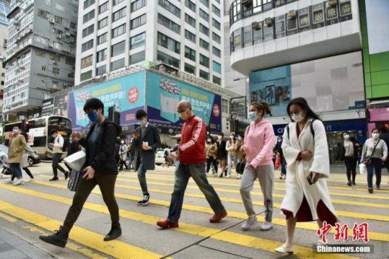 香港特首:疫情