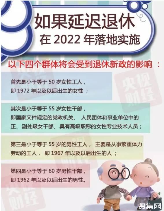 延迟退休政策终于定了,延迟退休方案2022年还是2025年正式实施